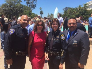 San Diego Schools POA Join Community in Supporting Law Enforcement